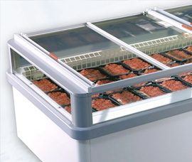 Glass covers for plug-in freezers - quick